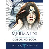 Mythical Mermaids - Fantasy Adult Coloring Book: Volume 8 - Mermaid Fantasy Art