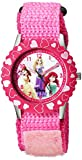 Disney Kids' W000966 Princess Stainless Steel Time Teacher Pink Watch best price on Amazon @ Rs. 1929