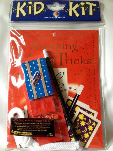 Kid Kit Magic Tricks, Amazing (Amazing Magic Tricks Kid Kit Amazing Magic Tricks Kid Kit (Usborne Kid Kits))