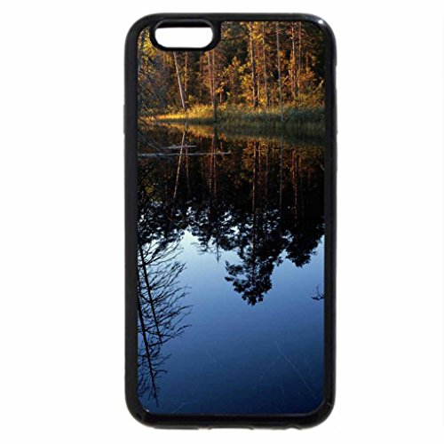 iPhone 6S / iPhone 6 Case (Black) Calm River Reflection