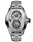 Memorigin Bourbon Series Tourbillon Watches Silver Color