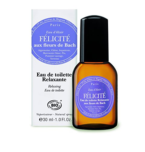 Elixir Water Félicité Of Bach Flowers Relaxing Eau De Toilette 30ml