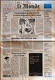 Telecharger Livres MONDE LE No 16029 du 09 08 1996 LE PRESIDENT ELTSINE A NOUVEAU AU REPOS COMPLET LE GOUVERNEMENT POURSUIT EN JUSTICE LES ANCIENS DIRIGEANTS DU CREDIT LYONNAIS LE MINISTRE DE L INTERIEUR INEBRANLABLE FACE AUX ETRANGERS SANS PAPIERS RENDEZ VOUS CELTE A LORIENT VIVRE A TOKYO COUTE DEUX FOIS PLUS CHER QU A NEW YORK PAR PHILIPPE PONS RETOUR SUR LE TERRAIN POURQUOI JACQUES CHIRAC A CHOISI D ATTENDRE PAR PATRICK JARREAU AU MOINS CINQUANTE MORTS DANS UN CAMPING ESPAGNOL ROSS PEROT CANDIDAT (PDF,EPUB,MOBI) gratuits en Francaise
