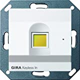 Gira 260727 Keyless In Fingerprint System 55, reinweiß matt