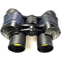 forfar JWBOSS 60x60 Zoom Prismáticos Premium telescopio binoculares con óptica integrada Visión Nocturna IR HD Verde de la Pelí