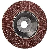 Ji Yun Herramienta abrasiva, Disco abrasivo de Disco de Lijado de 100 mm Disco abrasivo de Lijado abrasivo ID 16 mm de Grano 60