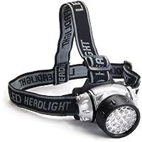 DIGIFLEX–Lampada torcia frontale con funzione flash dotata di 28LED e resistente all' acqua