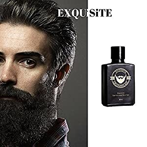 Exquisite Grooming Beard Care, Beard Oil, Luxury Beard Grooming Essentials For Men. Grooming & Moisturizing Kit, Soften Your Beard, Look Fresh And Smell Exquisite. EXQGKITS (Sandalwood, Beard Oil)