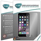 2 x Slabo pellicola protettiva per display iPhone 6 Plus / 6S Plus (5.5) protezione display No Reflexion|Anti-Riflesso OPACA - senza riflesso MADE IN GERMANY
