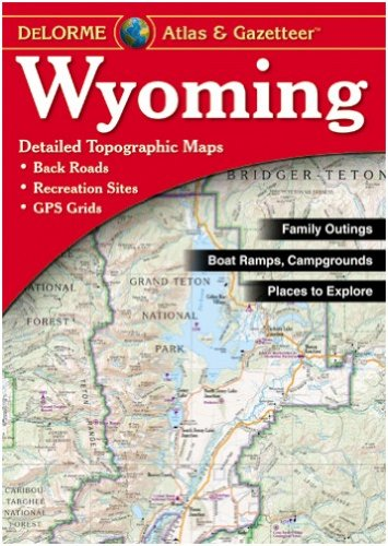 Wyoming Atlas & Gazetteer Cover Image