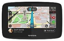 TomTom GO 520 Navigatore Satellitare per Auto - 5 Pollici, Chiamata in Vivavoce, Siri & Google Now, Aggiornamenti da Wi-Fi, Mappe del Mondo, Messaggi dello Smartphone, Schermo Capacitivo