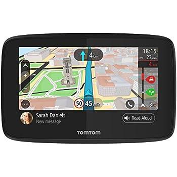 """TomTom GO 520 World - Navegador GPS (5"""" pantalla táctil, flash, batería, encendedor de cigarrillos, USB, interno), (versión europea España, Italia)"""