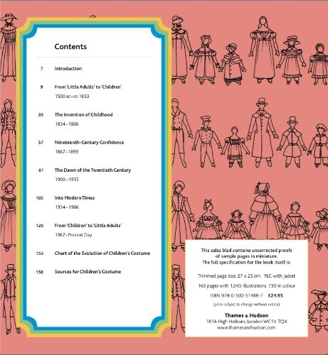 Children's Costume: The Complete Historical Sourcebook