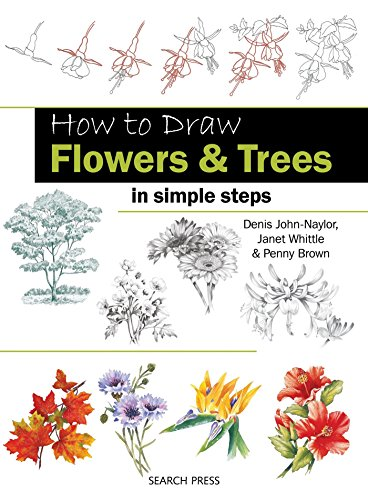 How to Draw: Flowers & Trees Cover Image