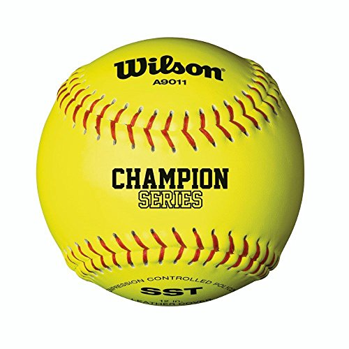 WILSON A9011 Nfsha Softball Handschuhe, Yellow, 12
