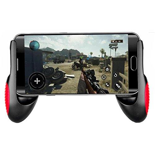 Saitake Poignée Support Manette de Jeu Universel Portable pour iPhone Android Samsung Smartphone longueur de 12.8 à 17cm