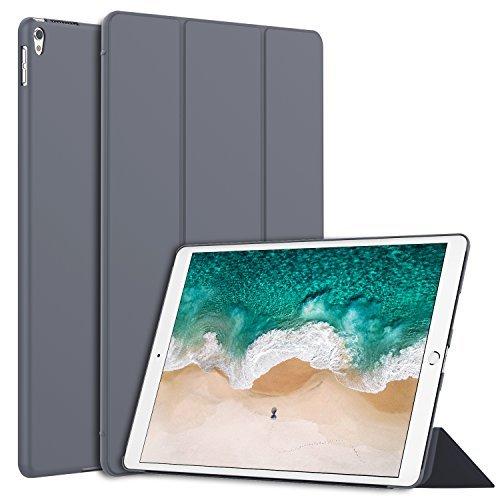 JETech Hülle für iPad Air 10,5 (3. Generation 2019) und iPad Pro 10,5 2017, Schutzhülle mit Ständer Funktion und Auto Schlafen/Wachen, Dunkel Grau