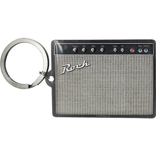 Nostalgic-Art 47016 Retro Wave - Rock Amplifier, Schlüsselanhänger 6x4,5 cm