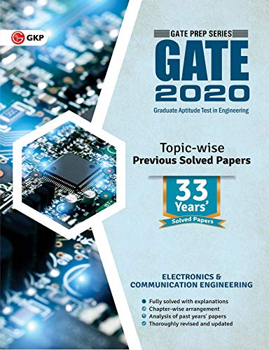 GATE 2020: Electronics Engineering 33 Years' Topic-Wise Previous Solved Papers