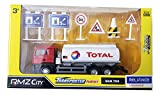 #8: RMZ City - 1/64 MAN TGS Total Oil Tanker Truck Transporter Series Play Set with Accessories