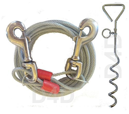 20ft-6m-dog-tie-out-cable-with-16-spiral-ground-stake-spike