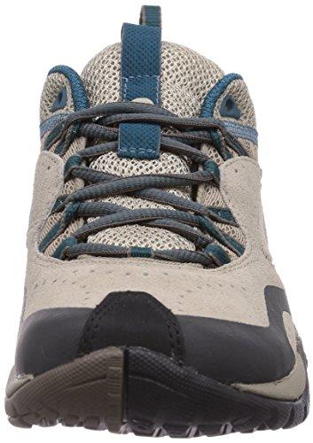 Merrell Azura Breeze, Chaussures de randonnée tige basse femme Marron (Taupe/Sea Blue)