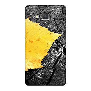 NEO WORLD Premium Lonely Leaf Back Case Cover for Galaxy Grand Max