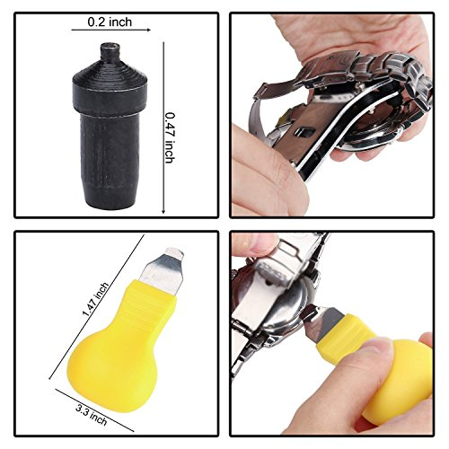 Sopoby Uhrenwerkzeug Set 147tlg  Tasche Reparatur Set - 4