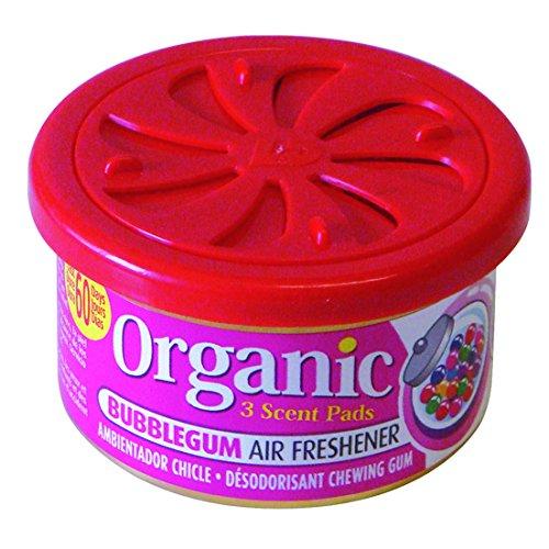 6 Dosen Organic Can Duftdose Autoduft - Kaugummi bubblegum