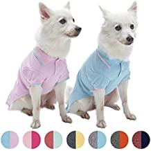Blueberry Pet–Juego de 2suave y cómoda Tejido esponja rosa país de las maravillas Hacedor dormir y se amuser pijamas para perro & T Shirt Camiseta de tirantes