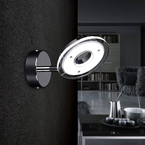 LICHT-TREND Sempre Uno / LED-1er Wandspot / 400 Lumen / chrom