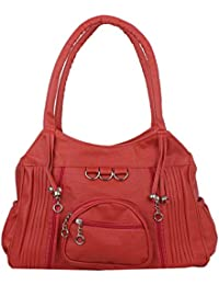Women's Casual Handbag By Raleigh, Style Shoulder Bag, Elegant & Eye Catching Suitable For Every Occasion (Pink)