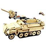 12che Kriegsminifigur Kit Militär Minifiguren Set Tank Waffen für Kinder