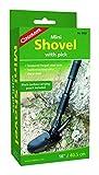 Coghlans Mini Shovel with Pick – Pala de nieve para esquí de descenso libre, color negro