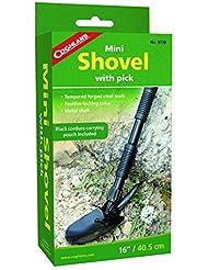 Coghlans Mini Shovel with Pick - Pala de nieve para esquí de descenso libre, color negro