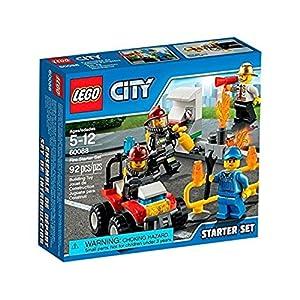 LEGO City Police 60088 - Fire Starter Set dei Pompieri 5054676087181 LEGO