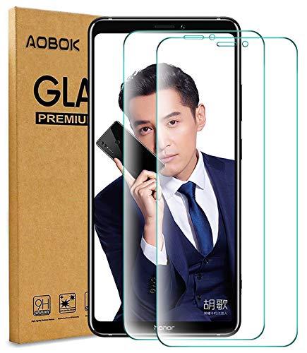 AOBOK [2 Stück Honor Note 10 Panzerglas Displayschutzfolie, Honor Note 10 Panzerglasfolie, [Anti-Kratzen] [Blasenfrei] [HD Klar], 9H Härte Schutzfolie für Honor Note 10 Smartphone