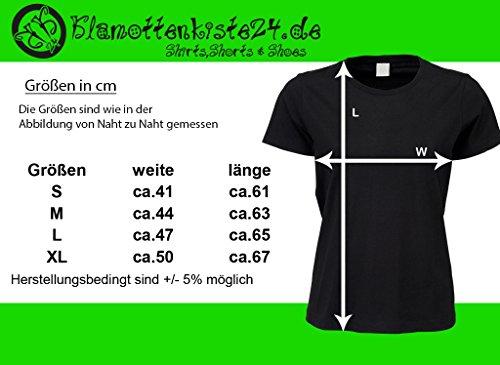 bedrucktes Damen T-Shirt mit witzigem Spruch, Schulbildung ist kostenlos..., Größen S-XL, cooles Fun-Shirt ideal als Geschenk Schwarz/Weiß