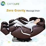 CAPTOLIFE Large Brown Massage Chair