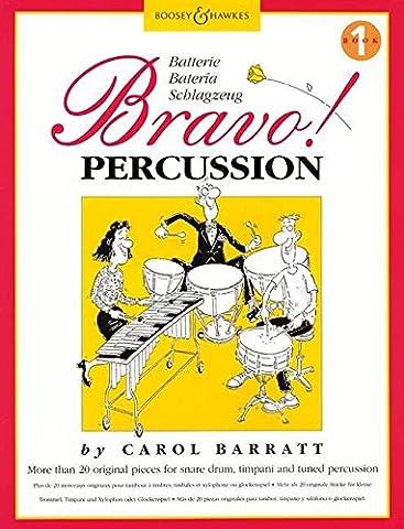Bravo Percussions Volume 1 - Percu.