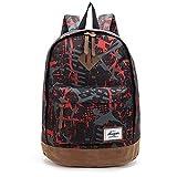 Sac à dos durable et confortable, sac à dos zip AOKE avec sac pour ordinateur portable pour jeunes garçons, étudiant en collage de filles