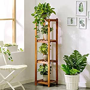 Supporti per piante rack jun flower 4 tiers fioriera in for Porta piante da interno