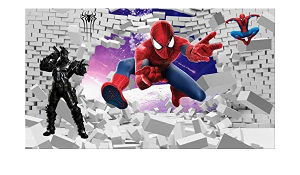 Spiderman Wallpaper Custom 3d Photo Wallpaper Super Hero