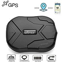 Juneo TKSTAR 3 mesi standby in tempo reale antifurto GPS Tracker per veicolo con forte magnete Batteria 5000mah TK905