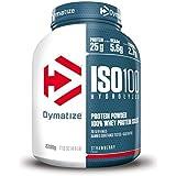 Dymatize ISO 100 HYDROLYZED Protéines whey Fraise 2,2 kg