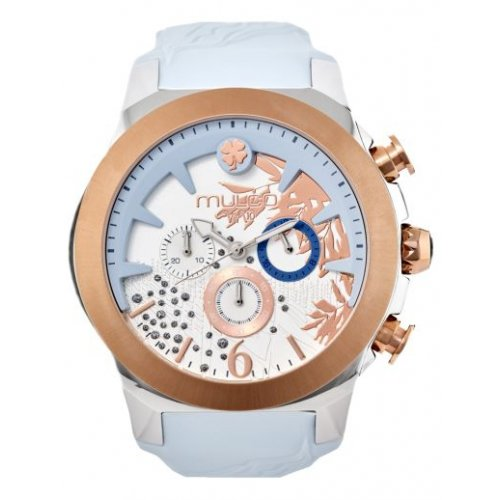 Mulco watch MW5-3810-413 Female Blue Silicone Multifunction