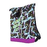 Tasche Schultasche Canvas Schulrucksack Vintage Bag Backpack Think 80s [049]
