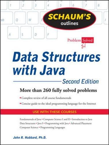 Schaum's Outline of Data Structures with Java, 2ed (Schaums' Computing)