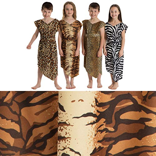 ow Höhlenmensch Kostüm für Kinder. 5-9 Jahre. ()