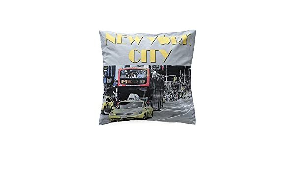 Cuscino arredo New York City Street 40x40 cm sfoderabile Q046